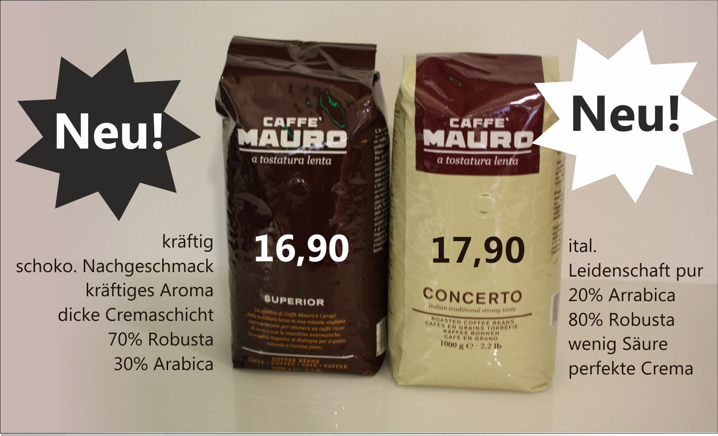 Kaffee Mauro Concerto